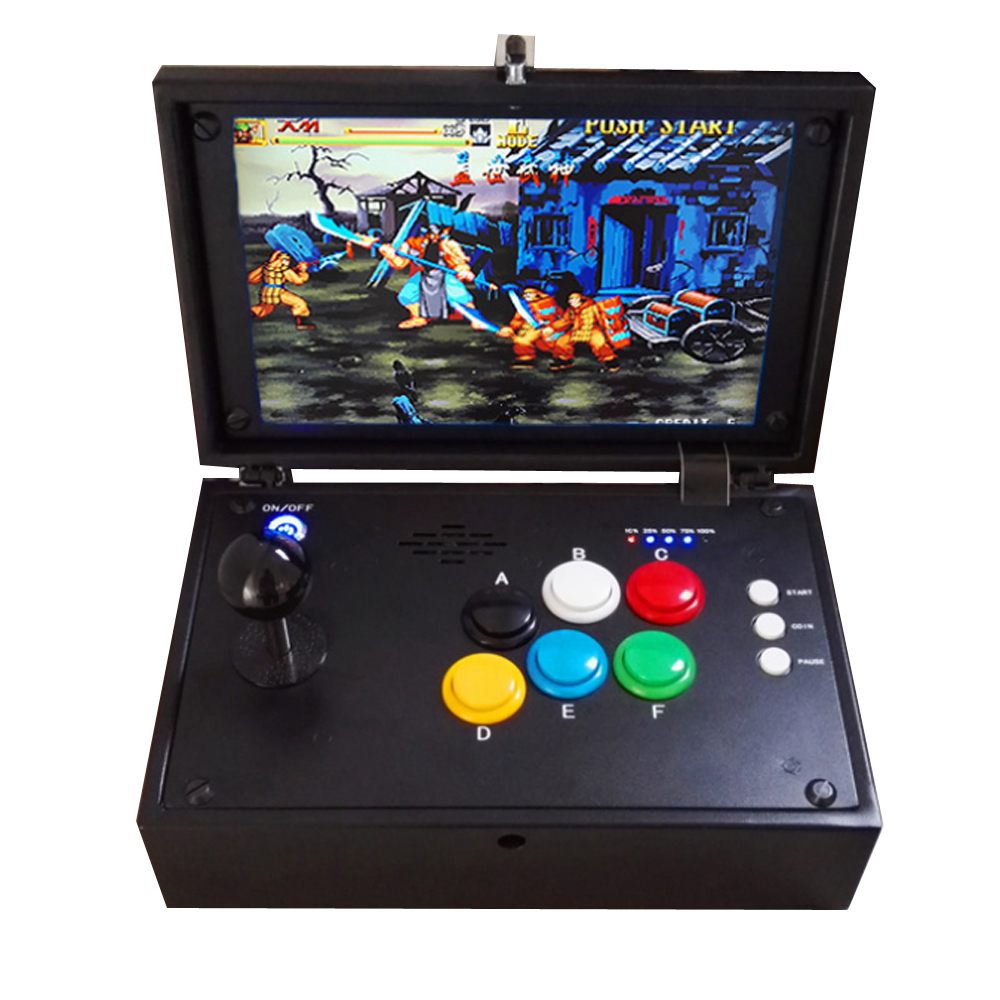 Best price!!!Arcade Joystick gamepad game Controller with pandora box 7 jamma multi game board 2117 games in 1 the ide ssd with programing 2019 games hard disk for game king 2019 in 1 multi game box accessories arcade game board parts