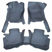 ФОТО custom car floor mats for 2004-17ford mondeo black with red line better match with the leather interior of the original car