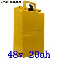 48 V 1000 W akku 48 v 20ah elektrische fahrrad batterie 48 V 20AH lithium-ion batterie mit 30A BMS und 54 6 V 2A ladegerät duty freies