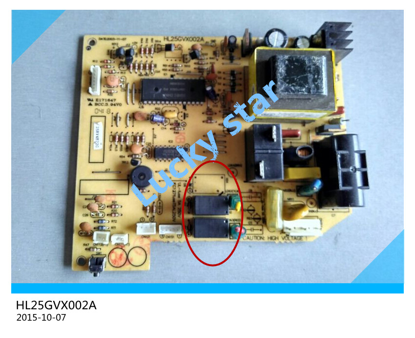 95% new for Air conditioning computer board circuit board HL25GVX002 HL25GVX002A board good working 2953s 95 4n