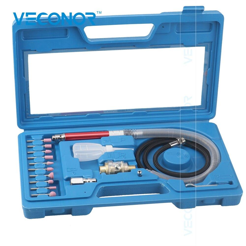 Air Micro Die Grinder Kit Mini Pencil Polishing Rotary Cutting Tool