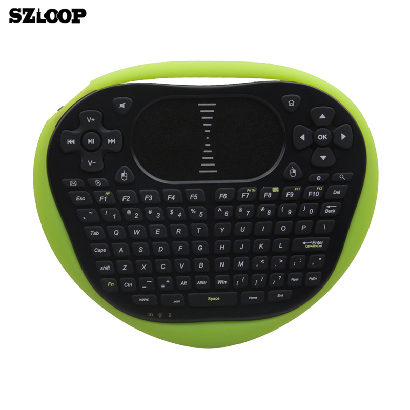 T8 wireless air keyboard mouse 2 4G Mini remote control flying Gaming  Keyboards with Touchpad for Android TV Box macbook ipad