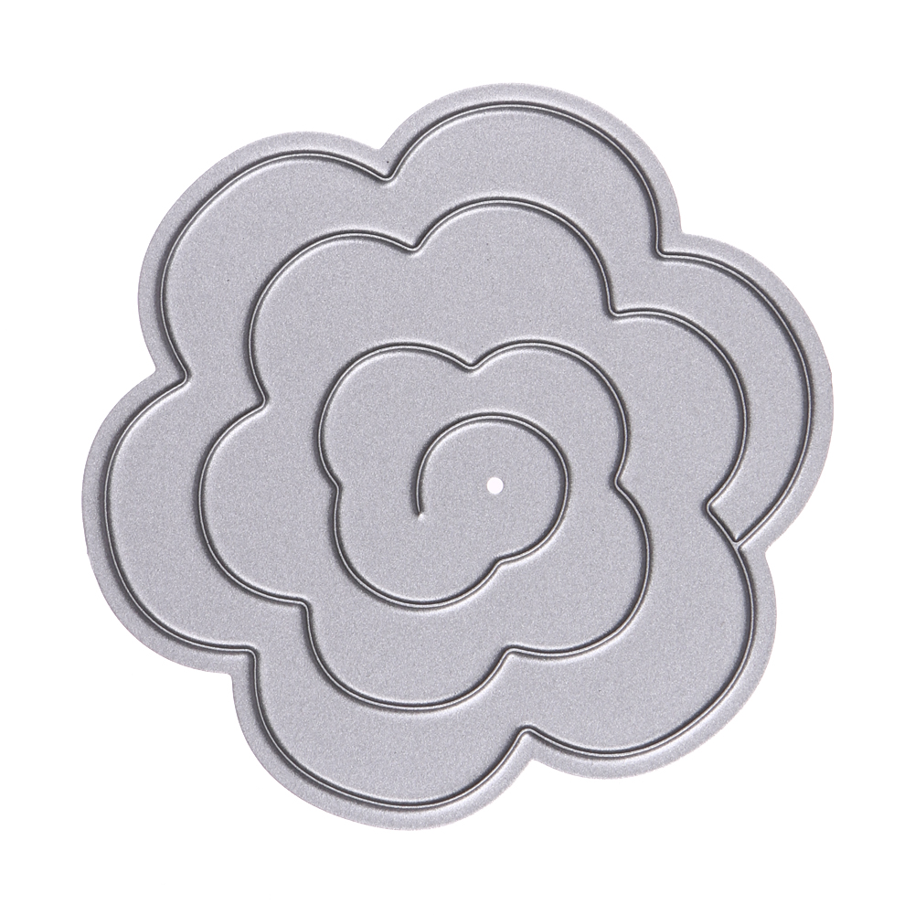 Compare prices on flower templates for paper flowers online metal decorative paper cutting dies template for diy scrapbookingphoto album metal craft embossing folder dhlflorist Image collections