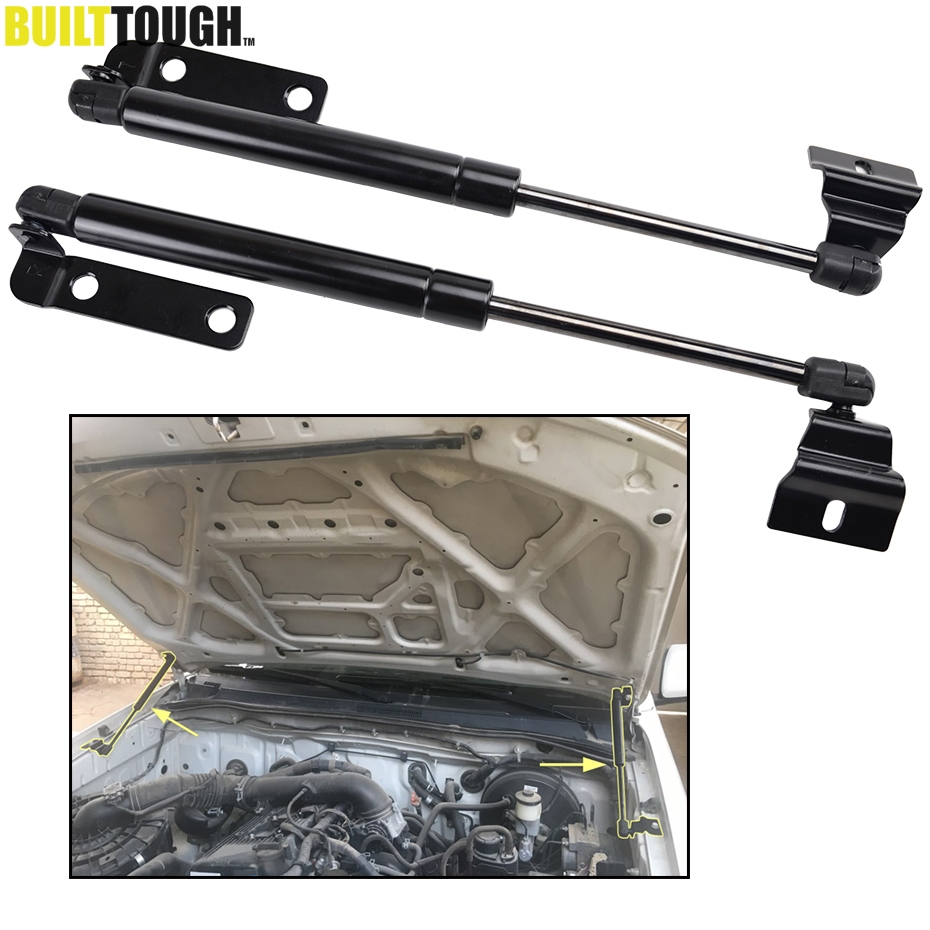 2pcs For Toyota Hilux Fortuner Shock Lift Support 2005 2014 Damper 2006 2007 2008 2009 Pair