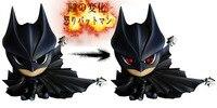 Hotsell 15cm action figure superheros Cute Mini Batman DC Comics Static Arts with LED Light toy for children KB0476