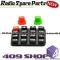 ( 0091-801-0044 ) teclado de goma para KG-UVD1P