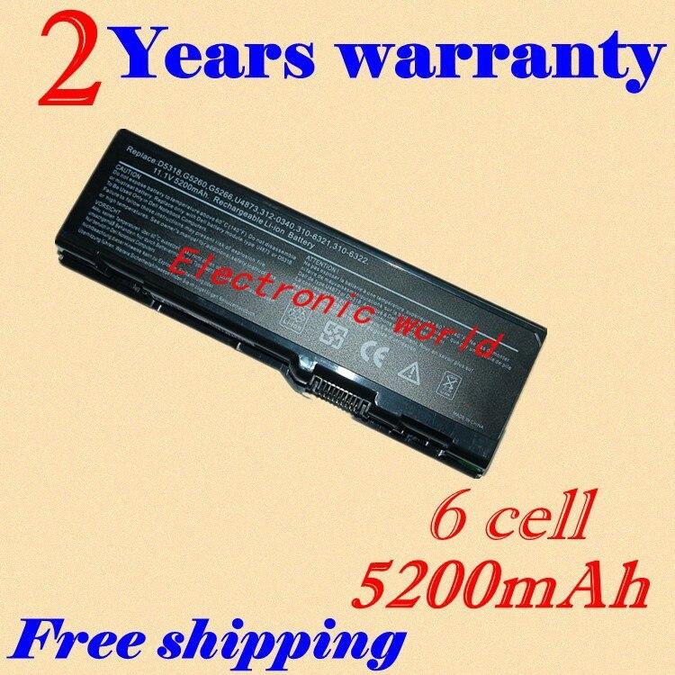 JIGU <font><b>4400MAH</b></font> 6CELL Laptop <font><b>Battery</b></font> FOR Dell Inspiron XPS Gen 2 XPS M170 XPS M1710 Precision M6300 Precision M90