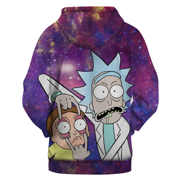 Rick and Morty 3D Hoodies Men Women Swea...
