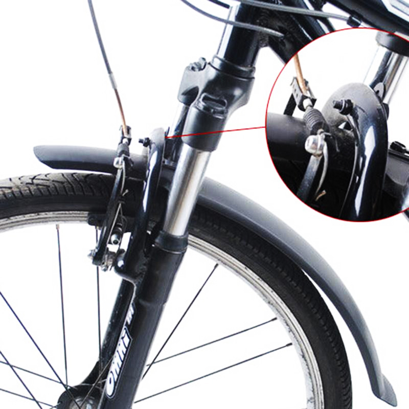 Bike Mudguard MTB Fender Mud Guards Wings For Cycling Bicycle Front Rear Fenders Easy To Assemble Mountain Bike Accessories