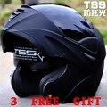 Envío gratis! seguro del tirón hasta la motocicleta motocross moto casco con interior Sun Visor virtue-808 punto
