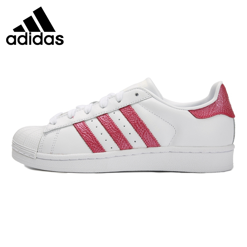 Original New Arrival Adidas Originals SUPERSTAR W Women's Skateboarding Shoes Sneakers image