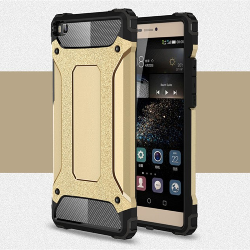 For Funda Huawei P10 P20 Lite Case Duty Armor Hard Mobile Phone Cases For Coque Huawei P10 Plus Honor 7C Case Cover Shockproof
