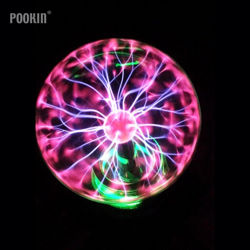 Nouveauté Lampe Magique Nouveau Style Mondial Électrostatique Ion Lampe Magique Plasma Fantastique Éclairage Cristal Magique Lampe Pour enfants Cadeau