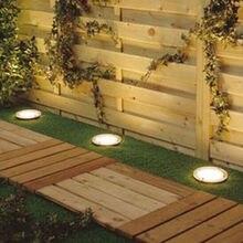 Забор двор светодиодных энергии путь солнечной бассейн сад света открытый лампы