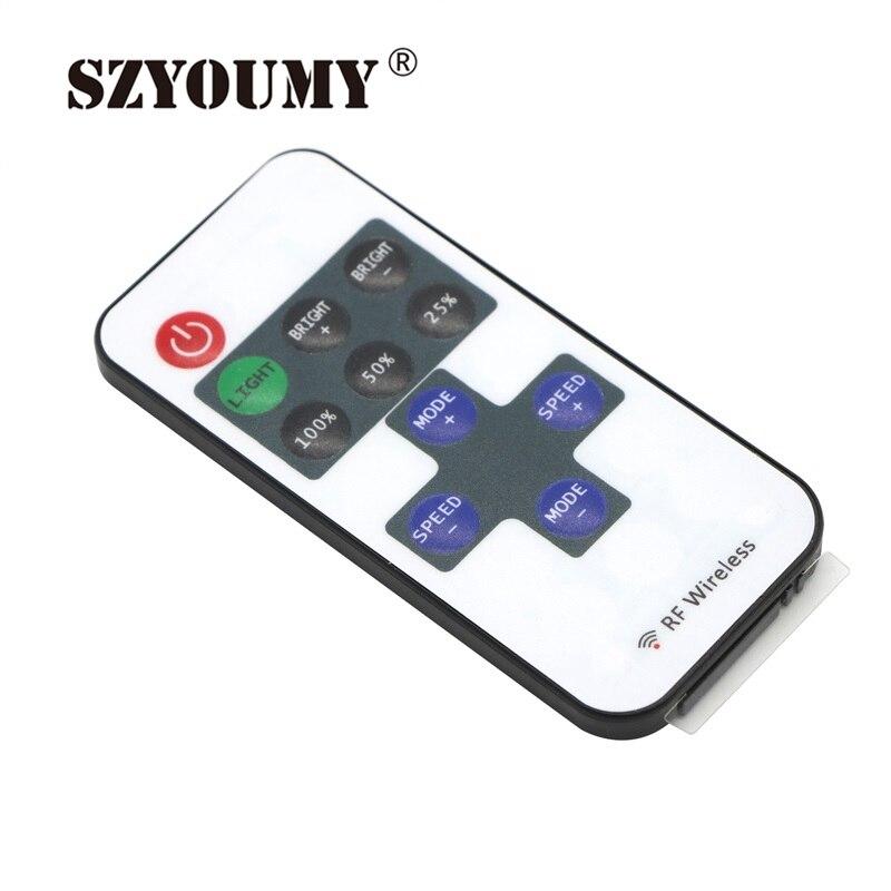 Szyoumy Dc 12v 12a 11 Keys Mini Rf Remote Controller Dc Plug Dimmer
