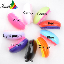 New arrival new colors hair brush 9 colors options smooth hair brush Free shipping