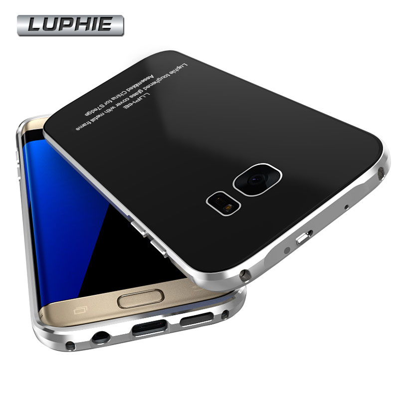 LUPHIE Aluminum Back Case For Samsung Galaxy S7 & S7 edge