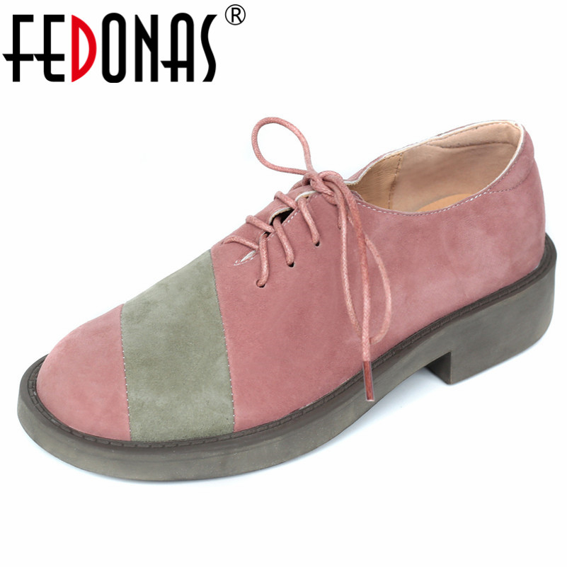 FEDONAS New Women Cow Suede High Heels Pumps Lace Up Spring Autumn Comfort Casual Shoes Woman Sexy Patchwork Cow Suede Pumps FEDONAS New Women Cow Suede High Heels Pumps Lace Up Spring Autumn Comfort Casual Shoes Woman Sexy Patchwork Cow Suede Pumps