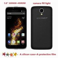 Original cheap celular BYLYND x6 Android 6.0 SmartPhones front camera fill light 5.0