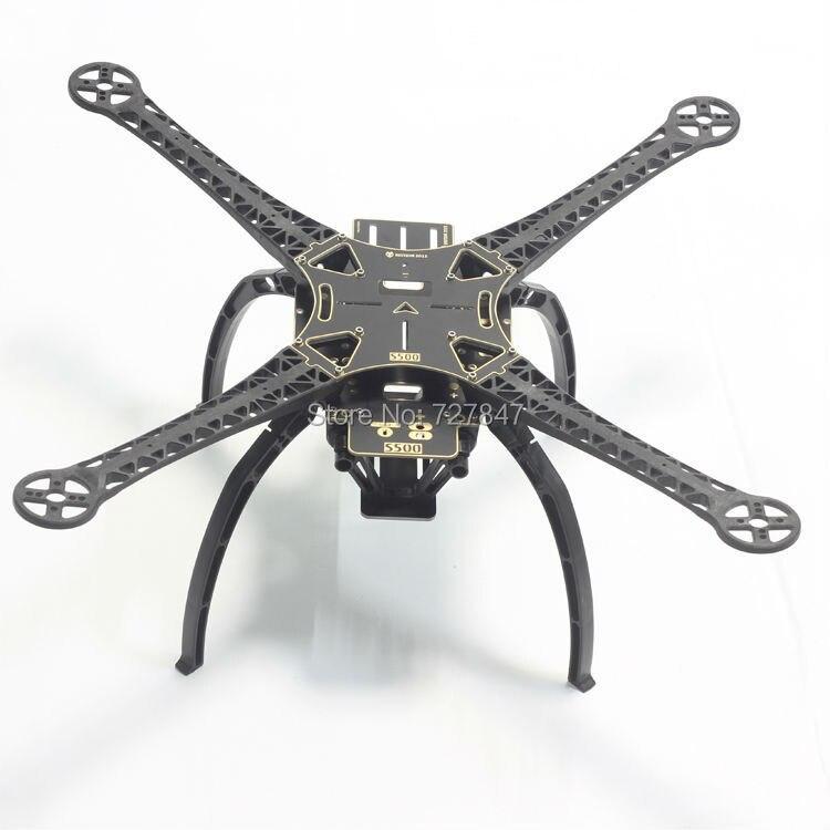 Версия печатной платы S500 sk500 четыре оси Qudcopter Рамки w/высокая Шасси для F550 Обновление версии FPV-системы Qudcopter Рамки