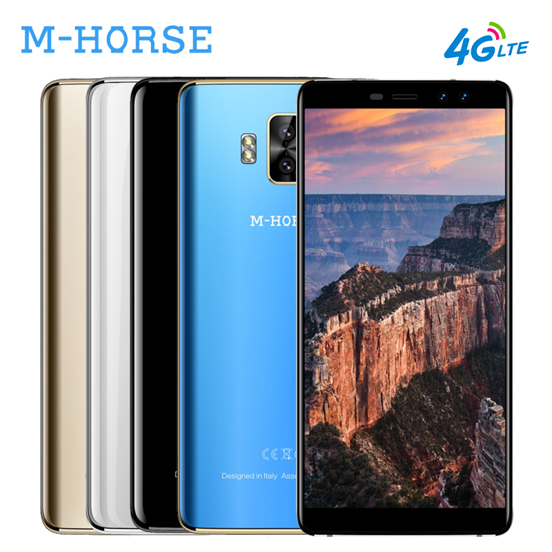 M HORSE Pure 1 4G 18 9 Smartphone 5 7 Inch Full Screen Android 7 0