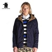 Новый Для мужчин s повседневная куртка дизайнер 100% мыть хлопок Мода с капюшоном Легкая куртка плюс Размеры Повседневное пальто Для мужчин М...