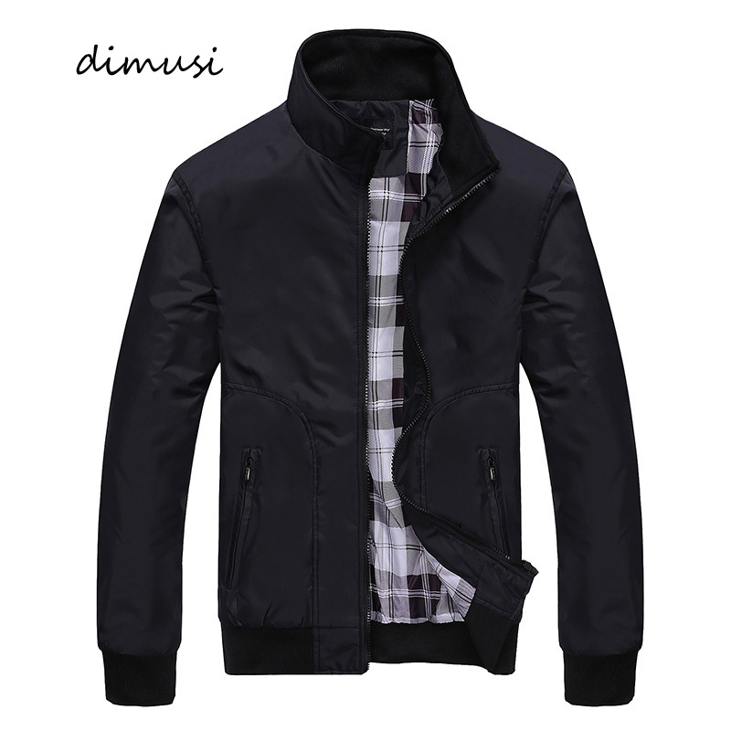 DIMUSI Spring Autumn Men's Bomber Jackets Casual Male Outwear Windbreaker Thin Jackets Fashion Mens Baseball Slim Coats,YA962