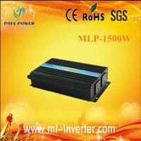 CE SGS ROHS Off Grid DC12v To AC220v 230v 240v 1500w Pure Sine Wave Solar Inverter
