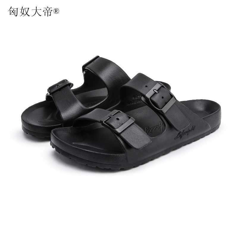 a7bf5df2c ... Men summer shoes plus size 35-44 leisure cork slippers fashion couple  slippers flip- ...