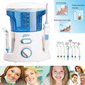 New 600ml Oral Irrigator Dental Teeth Water Flosser Flossing Set Tooth Cleaner Water Pick Machine With 7 Jet Tips EU US UK Plug