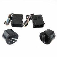 DOXA Chrome Headlight Switch Auto Sensor Light For VW Passat B5 New Bora Polo Golf MK4 Jetta 4 Santana 5ND941431B 5ND 941 431 B