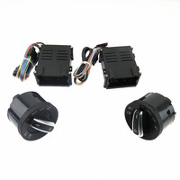 SCJYRXS Chrome Headlight Switch Auto Sensor Light For Passat B5 New Bora Polo Golf MK4 Santana 5ND941431B 5ND 941 431 B
