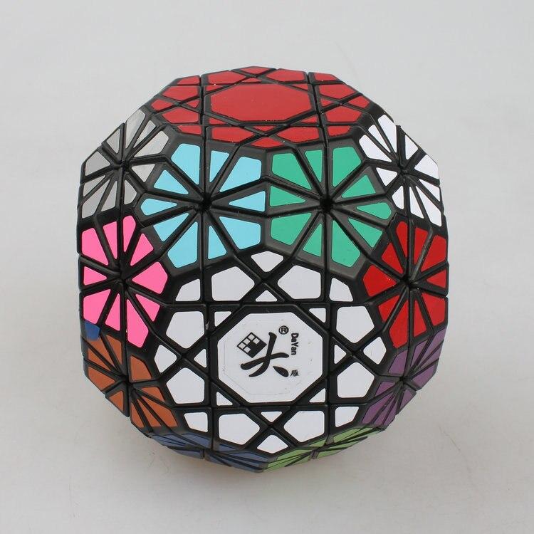 Nouveau Dayan Gem Cube VI Cube noir et blanc professionnel PVC & mat autocollants Cubo Puzzle vitesse classique jouets livraison gratuite