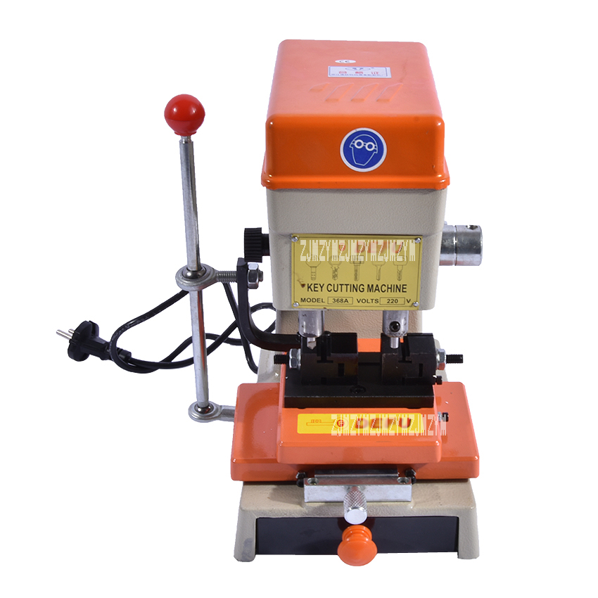 home improvement : Newest Laser Car Key Cutting Copy Duplicating Machine 368a With Full Set Cutters For Making Keys Locksmith Tools 220V