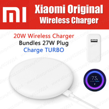 in Stock 27W Plug Original Xiaomi Wireless Charger 20W Max 1