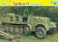 Dragão Kit Sd Kfz 7 8 t tipo HL 11 Halftrack - 1:35 escala 6794 novo