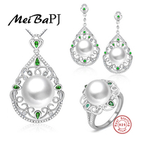 Yinfeng High End Custom NEW Top Quality 100 Genuine Freshwater Pearl Jewelry Sets For Women