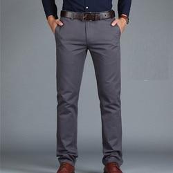 ICPANS брюки свободные хлопковые длинные мужские брюки повседневные Карманы армейские хаки черные мужские брюки мужские большие размеры летн...