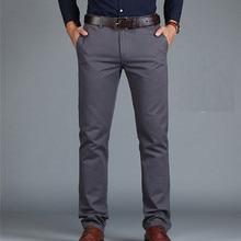 ICPANS Pants Loose Cotton Full Length Men Pants Casual Pocke
