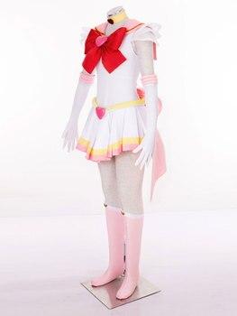 2020 New Anime Sailor Moon Chibiusa Cosplay Costume Sailor Chibi Moon Carnaval/Halloween Costumes for Women/Kids Custom Any Size 2