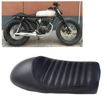 Motorcycle Black Vintage Hump Seat Cafe Racer Saddle CG GN CB200 CB350 CB400SS CB500 CB750 SR400 SR500 XJ XS Retro Seat