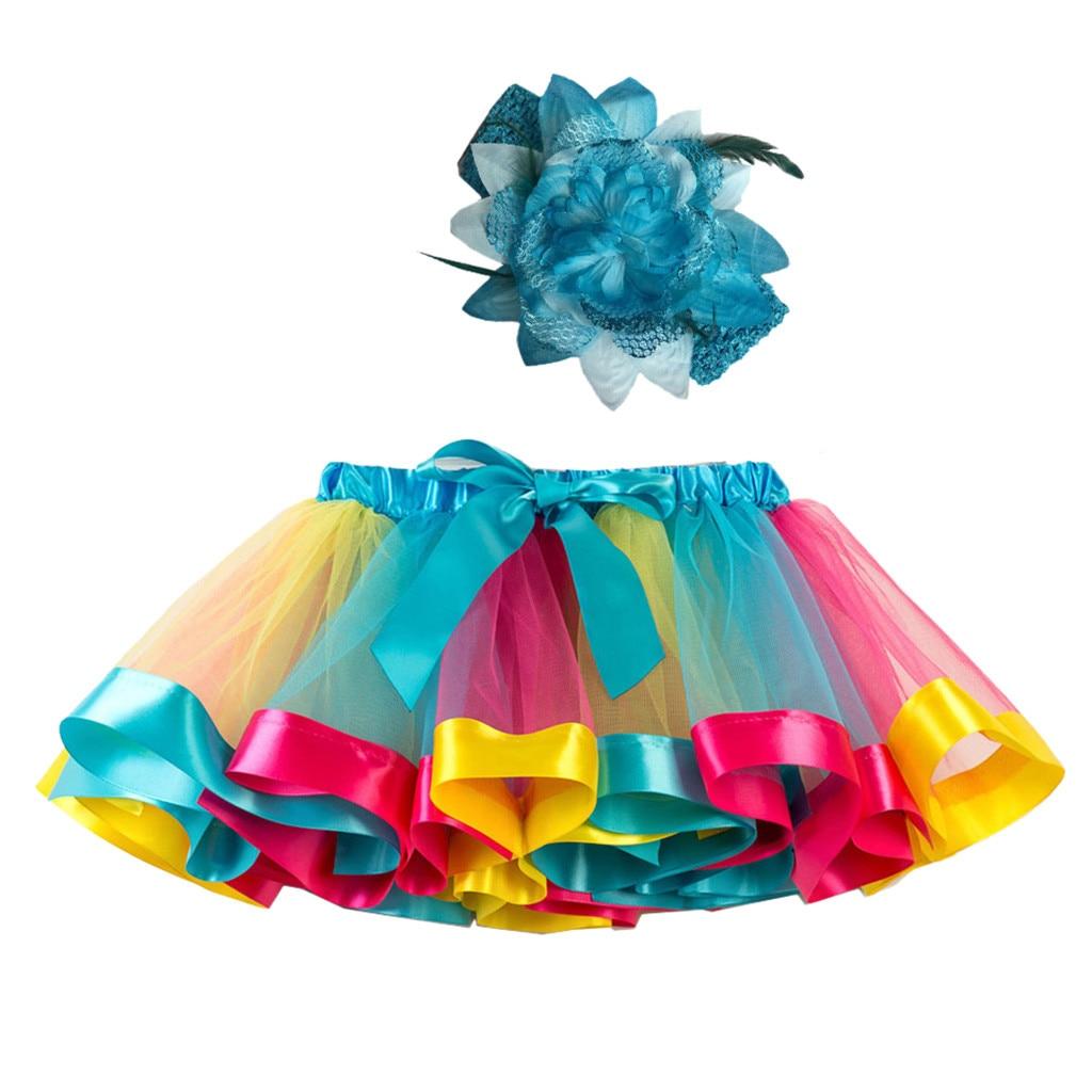 Skirts Tutus Girls Kids Tutu Party Dance Ballet Toddler