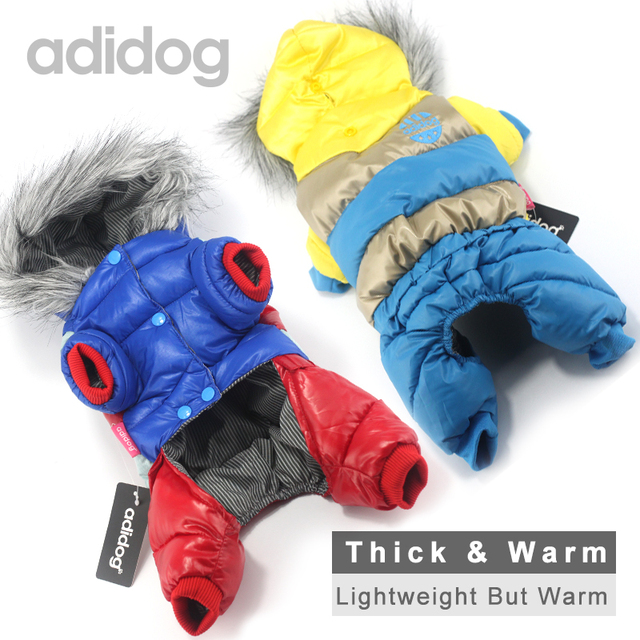 Hot Sale Winter Pet Dog Clothes Super Warm Down Jacket For Small Dogs Waterproof Dog Coat Thicker Cotton Hoodies For Chihuahua 5