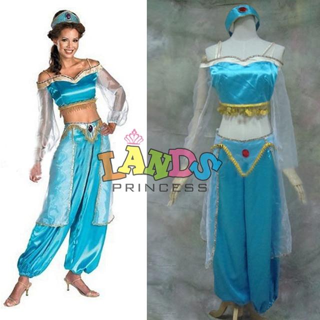 Free Shipping Custom Made Aladdin Dress Princess Jasmine Aladdin Costume  sc 1 st  AliExpress.com & Free Shipping Custom Made Aladdin Dress Princess Jasmine Aladdin ...