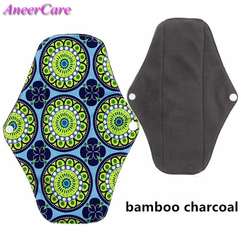 500 Reusable menstrual pad cloth sanitary napkins reusable menstrual pads towel towel hygiene washable bamboo menstrual