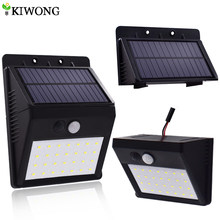 28 LEDS Solar Motion Sensor Light Super Bright Waterproof Outdoor Three Modes Security Separable Night Lamp for Garden Wall(China)
