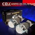 Envío Gratis Hid Bi Xenon Lente Del Proyector LHD para la Linterna Del Coche 3.0 Koito Q5 35 W Puede Utilizar con D1S D2S D2H D3S D4S Super brillante