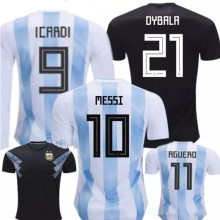 5073846b64b 18 19 adults T-shirt Camisa Argentina shirts 2018 Leisure Best Quality  adults Argentina shirt Casual men shirt