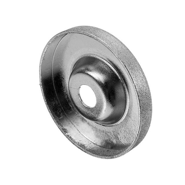 1pc 56mm 180/360 grain diamant meule cercle meuleuse pierre affûteuse Angle coupe roue outil rotatif
