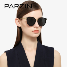 PARZIN Brand Quality Cool Sunglasses Women Driving Glasses Polarized Eyeglasses With Alloy Frame Fashion Accessories 2017 New